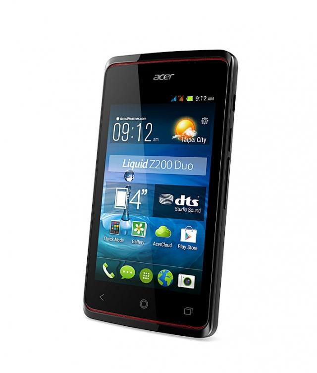 Acer Liquid Z200 – доступный Dualsim