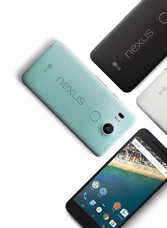 Старт продаж нового смартфона Nexus 5Х
