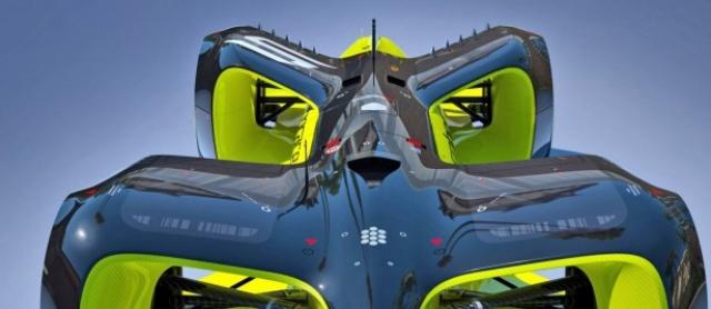 Roborace анонсував автономний безпілотний гоночний автомобіль