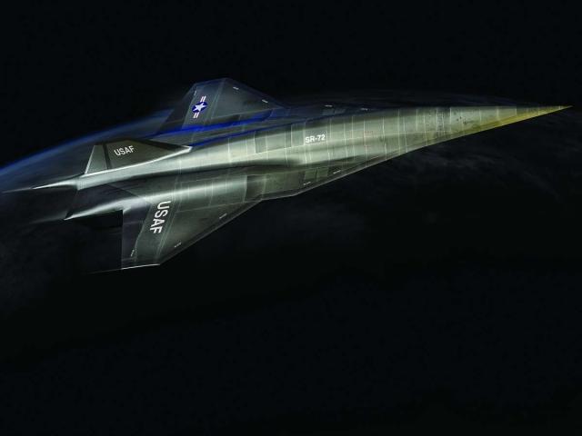 Следующий самый быстрый шпионский самолет в мире - SR-72