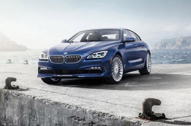Седан BMW B6 Gran Coupe от тюнинг-компании Alpina получил двойную турбину и 600 л.с.