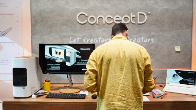 Acer ConceptD – новий код твоєї творчості!