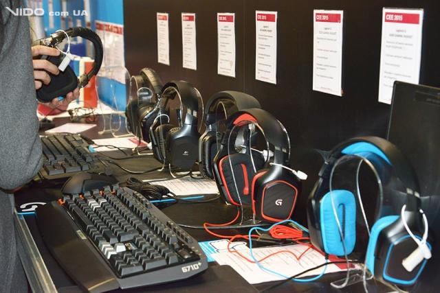 Периферийные устройства Logitech и Genius на выставке CEE 2015