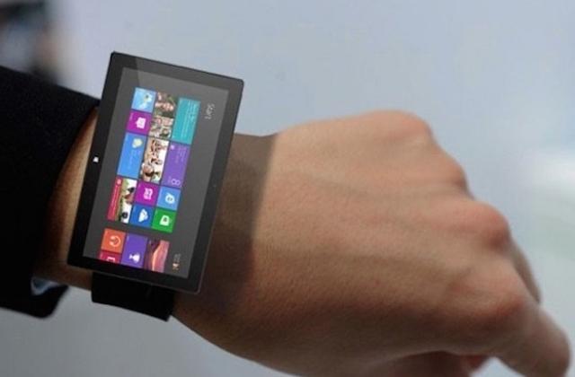 Немного об умных часах Microsoft Surface