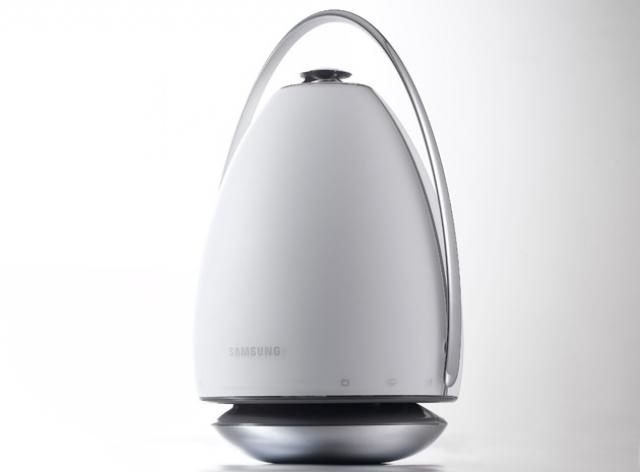 Samsung представила необыкновенно громкие колонки в форме яйца
