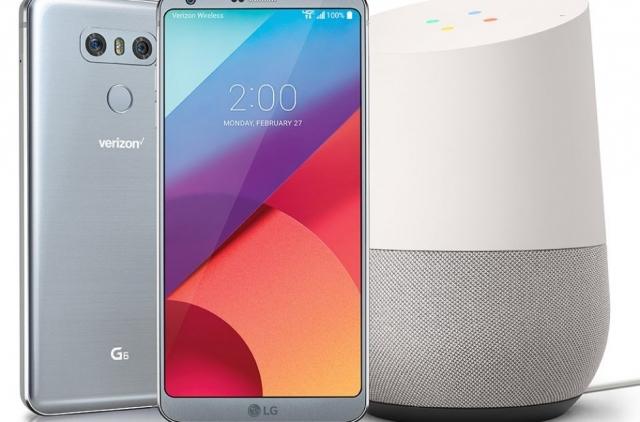 Побутові прилади LG з віртуальним помічником Google Home