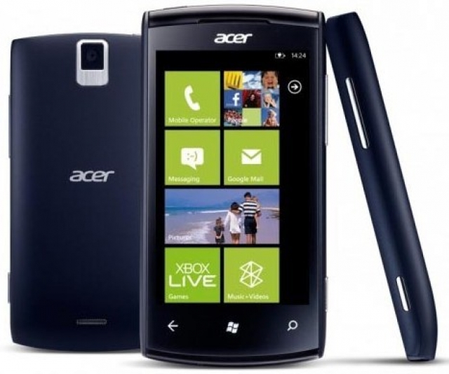 Недорогой Windows Phone от Acer