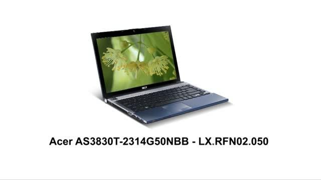 Ноутбук Acer AS3830T-2314G50NBB (LX.RFN02.050)