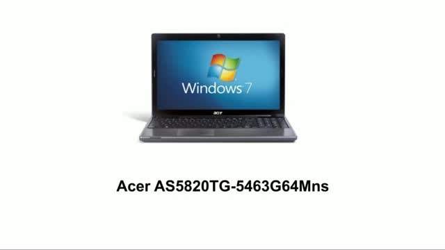 Acer AS5820TG (5463G64Mns)