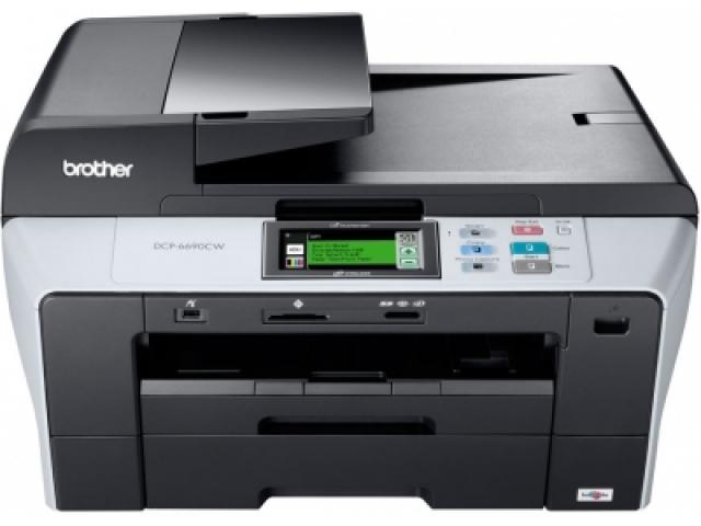 Офисная радость: новый Brother DCP-6690CW.