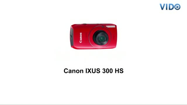 Цифровая фотокамера Canon DIGITAL IXUS 300 HS
