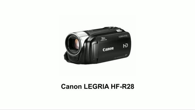 canon legria hf r28 manual
