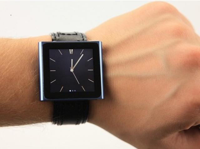 Наручные часы из iPod nano – это стильно!