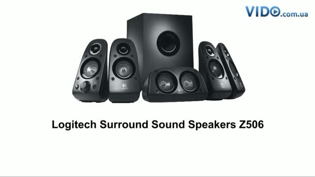 Logitech  Surround Sound Speakers 5.1  Z506