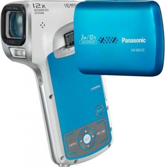 Новые камкордеры Panasonic HX-WA10 и HM-TA20