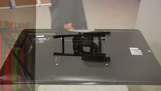 """PXRUB - Моторизированное настенное крепление для ТВ 32-65"""""""