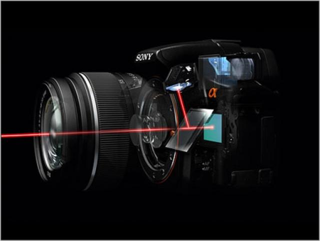 Sony патентует полузеркалки