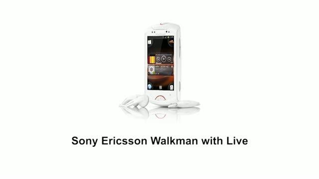 Смартфон Sony Ericsson Live with Walkman