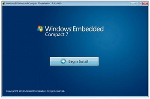 Windows Embedded Compact 7 — выпущена финальная версия.