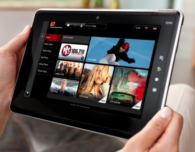 Планшет, ноутбуки и многое другое от Toshiba на CES 2011