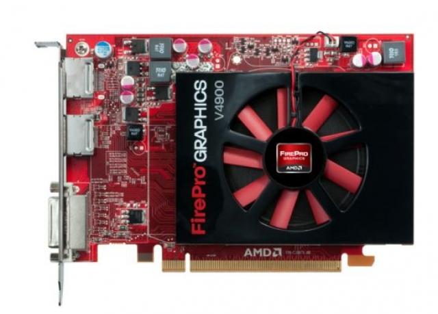 Новая видеокарта AMD FirePro V4900