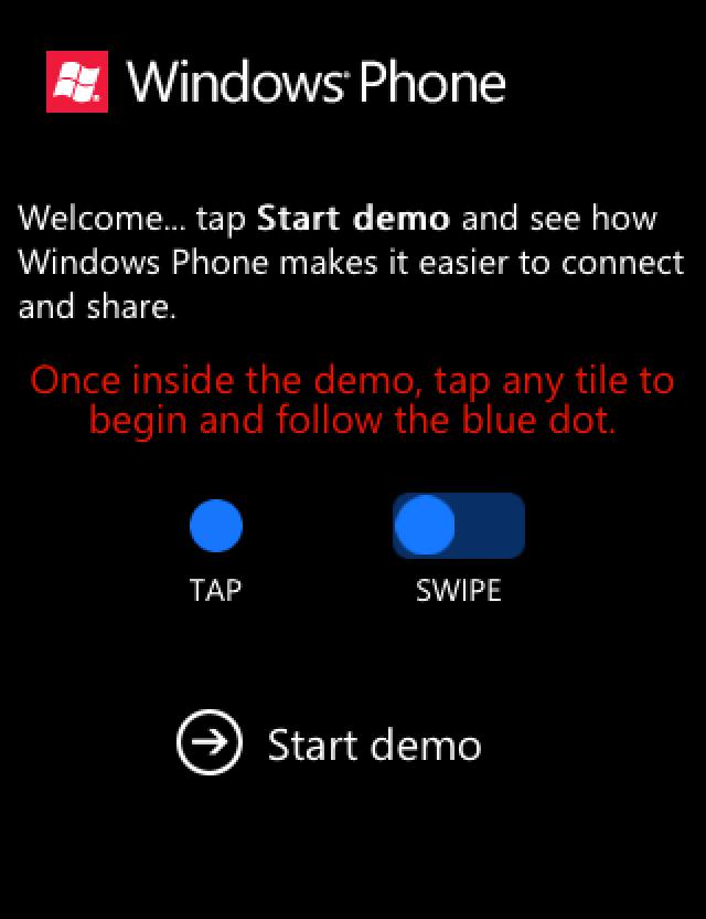 Microsoft запустила демонстрационный сайт Windows Phone для пользователей iOS и Android