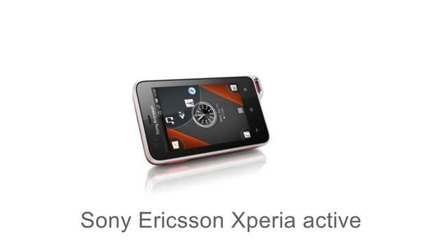 Видеообзор смартфона Sony Ericsson Active ST17i