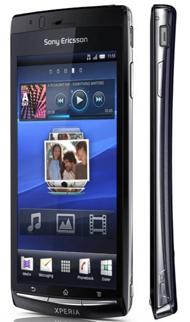 Смартфон от Sony Ericsson на CES 2011