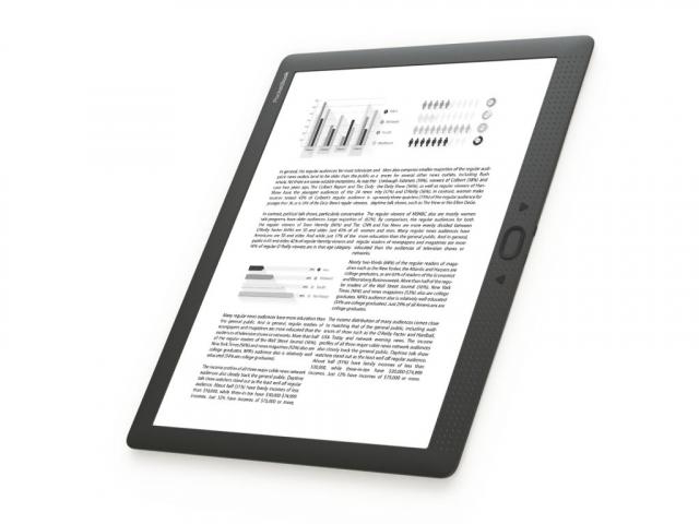 PocketBook CAD Reader Flex - устройство в уникальном гибком корпусе