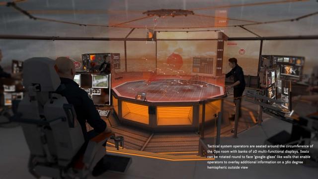 Как будет выглядеть боевой корабль будущего?