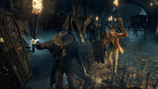 Геймплейное видео игры Bloodborne: смертельные враги и боссы