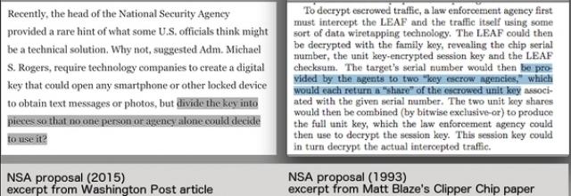 NSA хочет открыть доступ к вашим зашифрованным данным