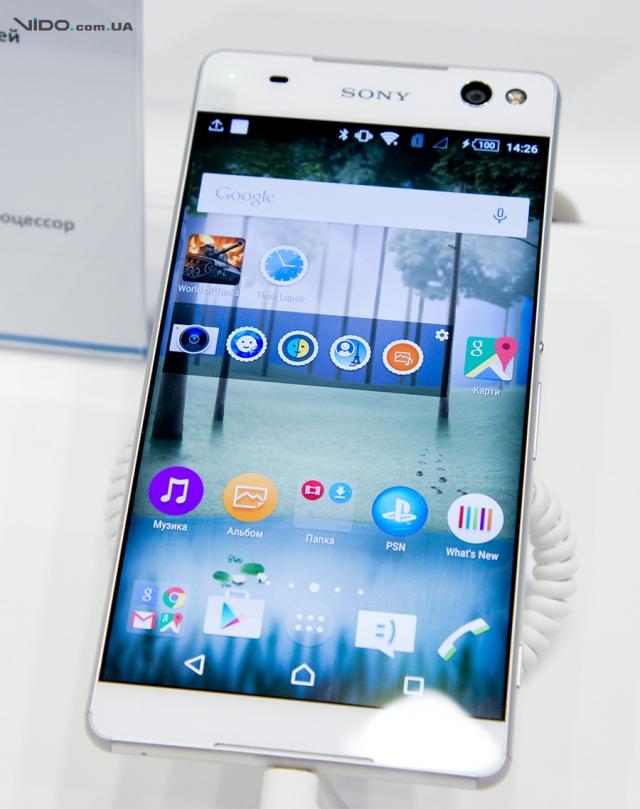 Смартфоны и планшеты на CEE 2015