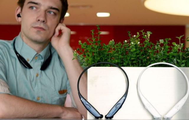 Новая Bluetooth-гарнитура LG TONE ULTRA
