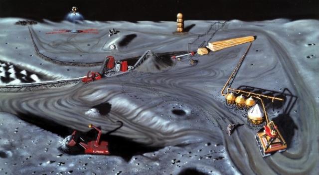 Китай планирует добывать термоядерное топливо гелий-3 на Луне