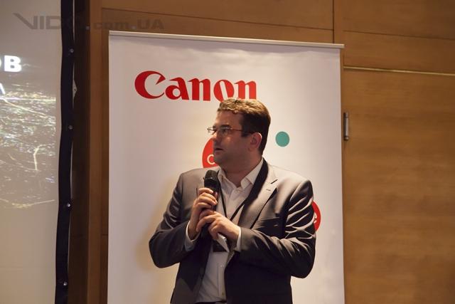 Запуск программы Canon Professional Services в Украине