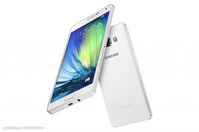 Samsung представила смартфон Galaxy A7 в 6.3 мм цельнометаллическом корпусе