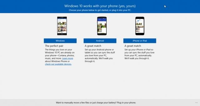 Как синхронизировать Android или iPhone с Windows 10