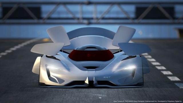 Ультранизкий 2600-сильный концепт-кар SRT Tomahawk VGT с гибридной системой, работающей на сжатом воздухе