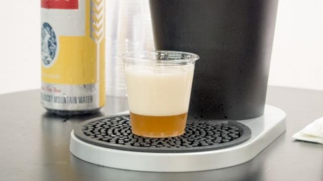 Гаджет, превращающий дешевое пиво в элитное