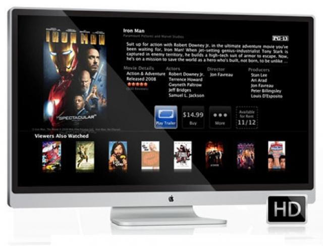 iTV от Apple – слухи о HD-телевизоре нового поколения