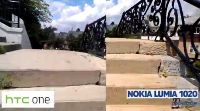 HTC One vs Nokia Lumia 1020