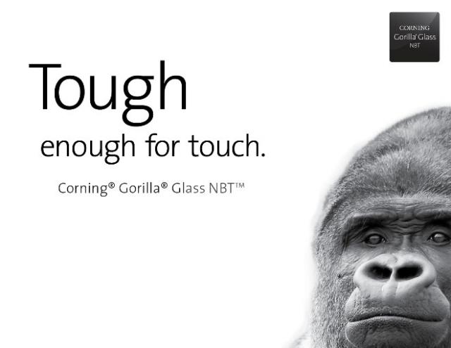 Gorilla Glass расширяет поле деятельности
