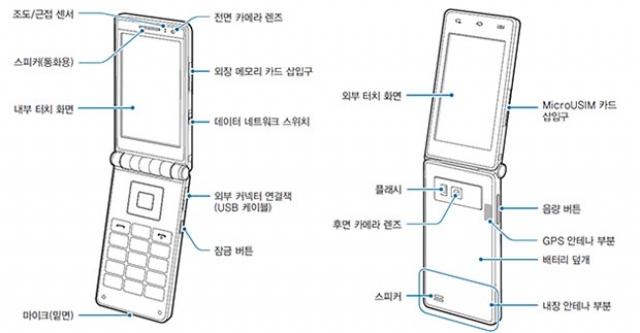 """""""Раскладушка"""" Samsung с внушительными характеристиками"""