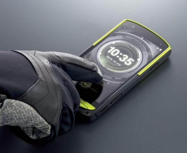 Kyocera Torque G02 – смартфон на базе Android с возможностью подводной съемки