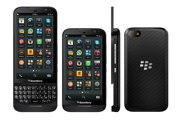 Промофото новинок от BlackBerry попали в Интернет
