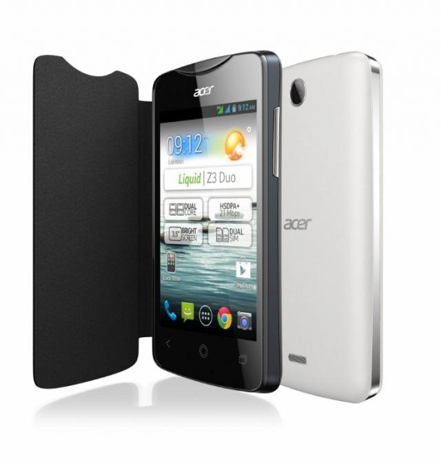 Бюджетный Acer Liquid Z3 за €99
