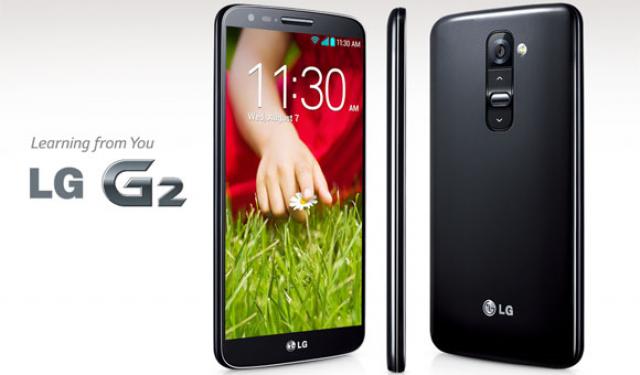 Корейская версия LG G2 имеет съемный аккумулятор и слот для карт MicroSD