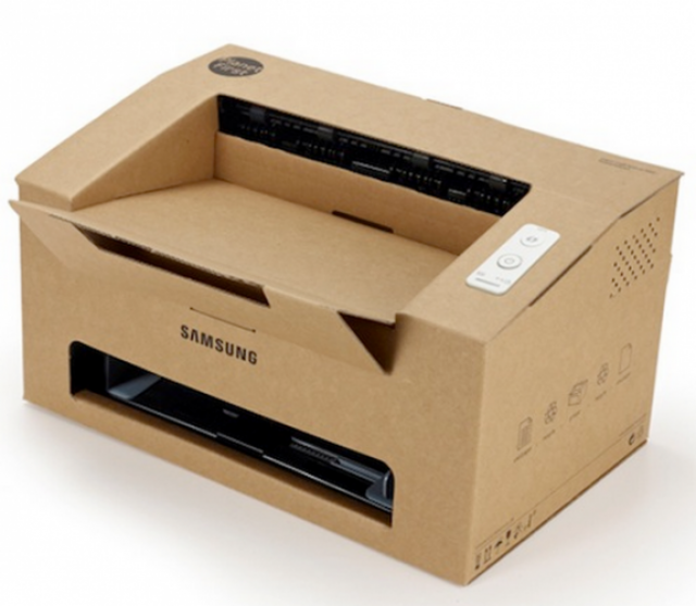 Samsung Origami - принтер из картона