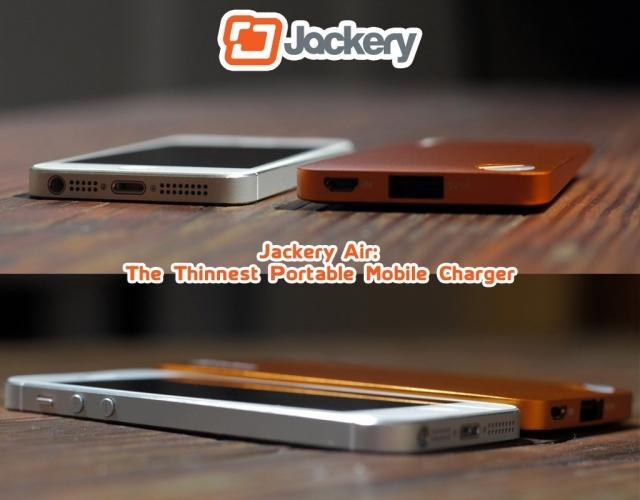 Самое тонкое портативное зарядное устройство для смартфонов и планшетов